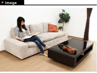 リビングテーブル 1300サイズ / Loob イメージ画像