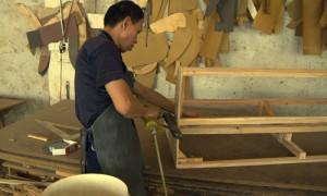 木枠組工程