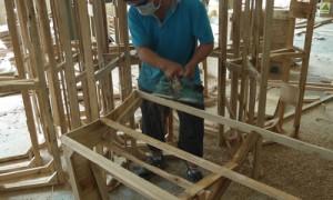 木枠組工程その2
