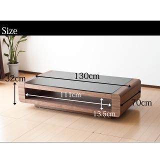 リビングテーブル [ウォールナット] / Loob イメージ画像