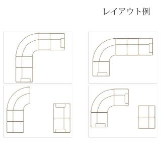 カントリーコーナーソファ 5点セット / Sienna(シエナ)