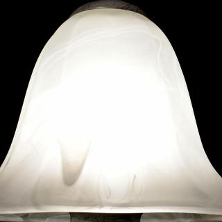 1灯式 アンティークランプ 卓上照明 ホワイト