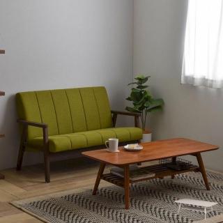 折りたたみ・棚付きリビングテーブル 110㎝幅  / Sereno(セレノ)