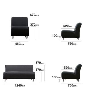 ダイニング 4点セット 昇降式テーブル+ソファ / ELLE 商品詳細