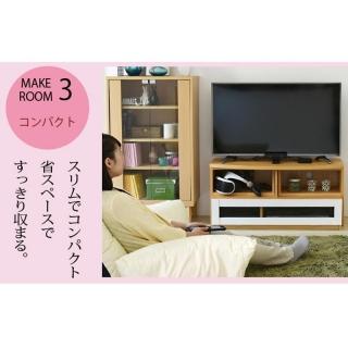 自由にスライド伸縮テレビラック / Chamois(シャモワ)