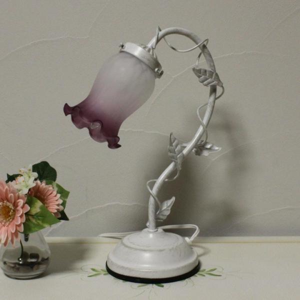 1灯式 アンティークランプ 卓上照明 ムスカリ