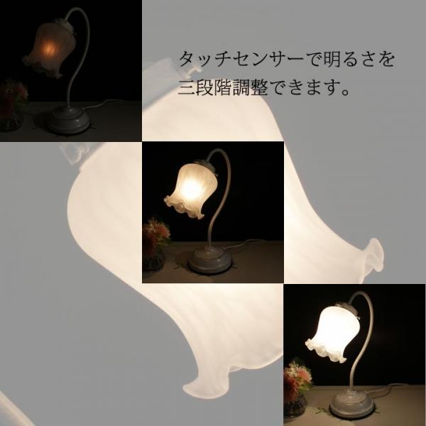 1灯式 アンティークランプ 卓上照明 リリィー