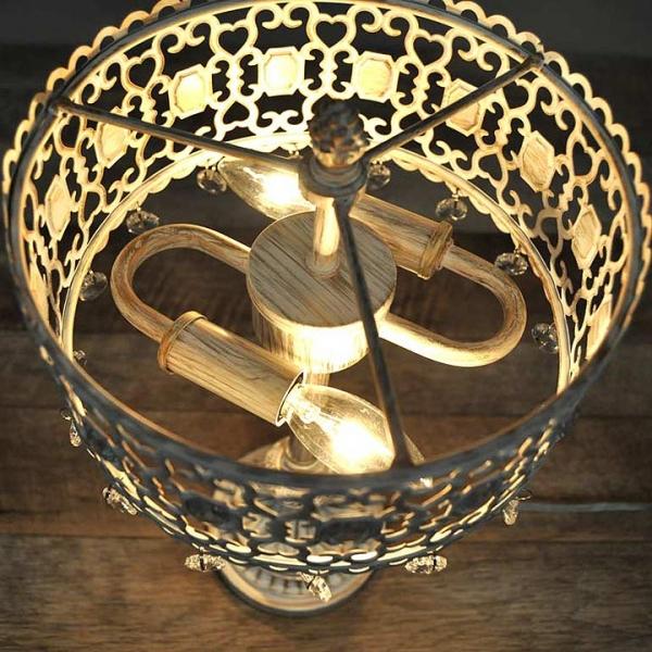 アンティークランプ ダングルライト 卓上照明