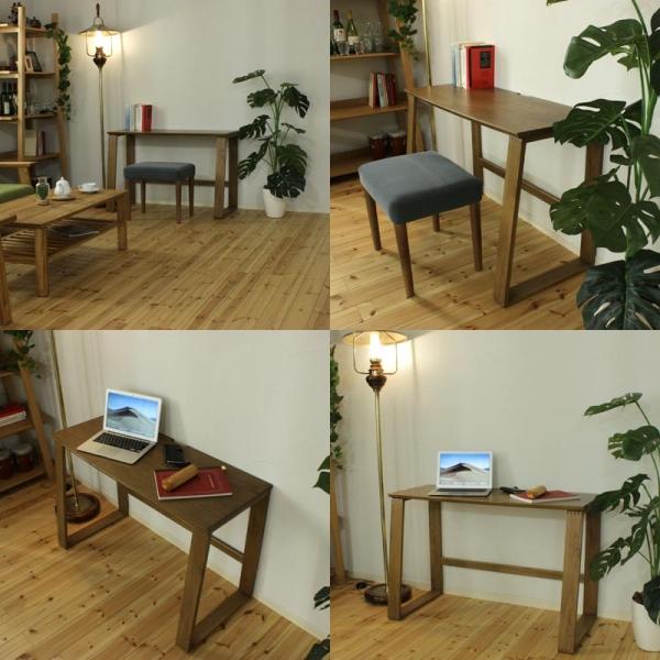 北海道産ナラ材シンプルデスク / Simple desk(シンプルデスク)